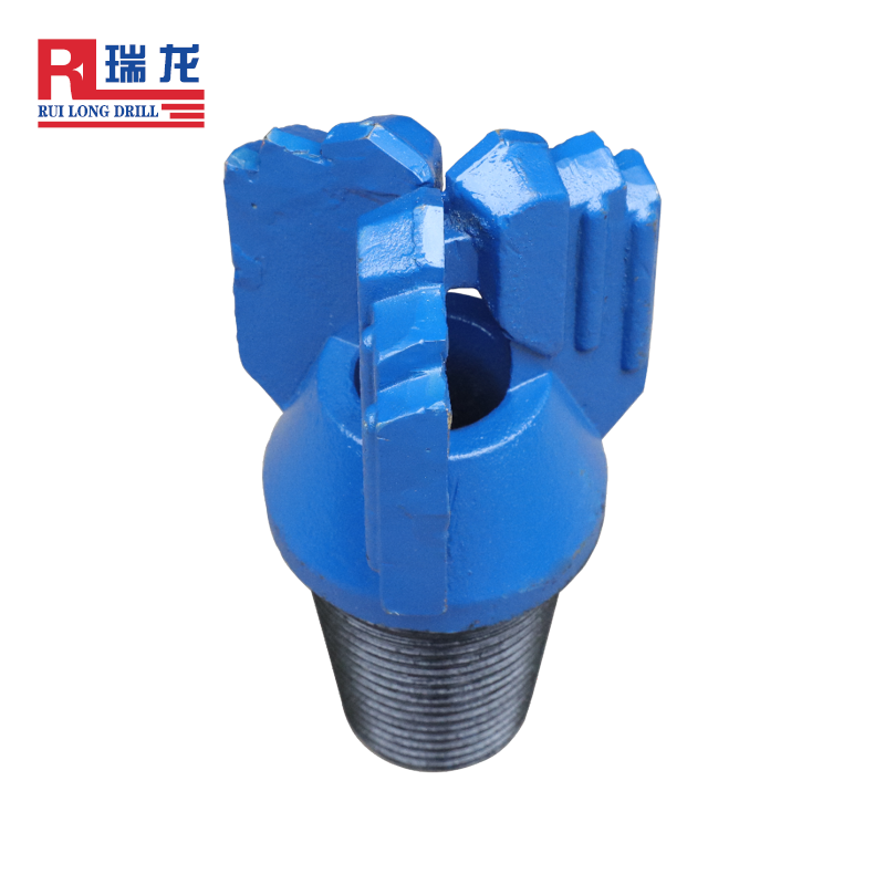 Professional manufacturer 153mm Three Wings Tungsten Carbide drag drill bit for