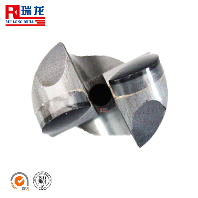 2 or 3 wings whole piece pdc drill bit for sandstone drilling